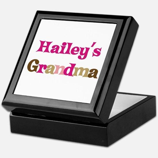 Hailey's Grandma Keepsake Box