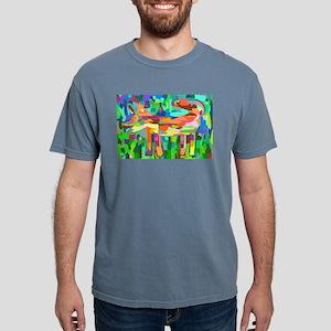 Watercolor Rainbow Fox T-Shirt