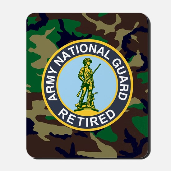 National Guard Retired<BR> Mousepad 1