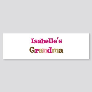 Isabelle's Grandma Bumper Sticker