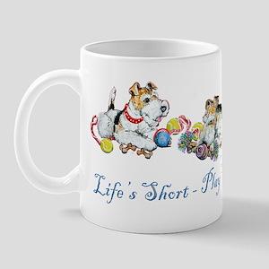 Fox Terriers Dog Play Mug