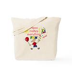 Papou Fun Boy Tote Bag