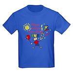 Papou Fun Boy Kids Dark T-Shirt