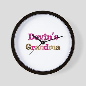 Devin's Grandma  Wall Clock