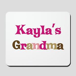 Kayla's Grandma Mousepad