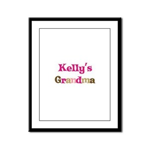 Kelly's Grandma Framed Panel Print
