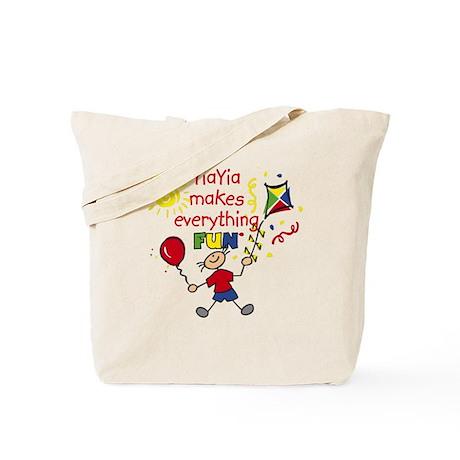 YiaYia Fun Boy Tote Bag