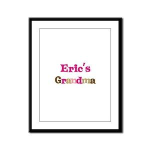 Eric's Grandma  Framed Panel Print