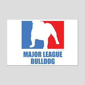 ML Bulldog Mini Poster Print