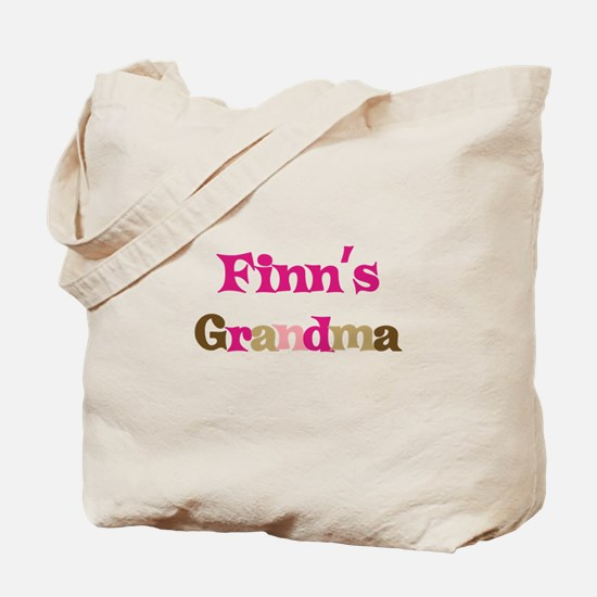 Finn's Grandma  Tote Bag