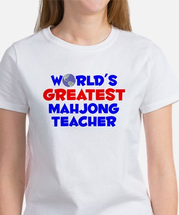 World's Greatest Mahjo.. (A) Women's T-Shirt