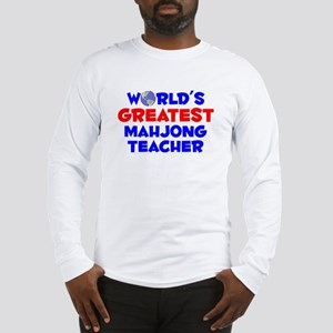World's Greatest Mahjo.. (A) Long Sleeve T-Shirt