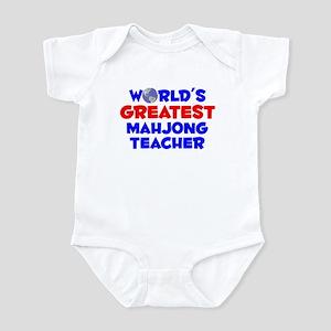 World's Greatest Mahjo.. (A) Infant Bodysuit