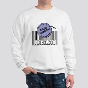 EDUCATE AND PREVENT EATING DISORDERS Sweatshirt
