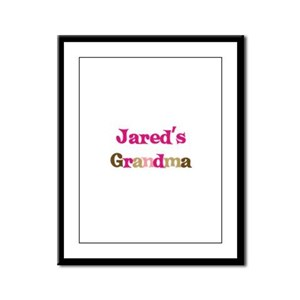 Jared's Grandma  Framed Panel Print