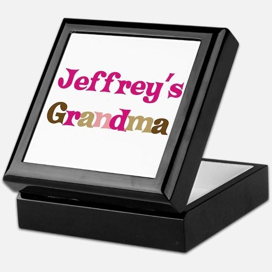 Jeffrey's Grandma  Keepsake Box