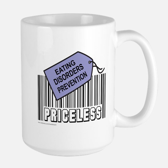 EATING DISORDERS PREVENTION Large Mug