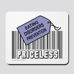 EATING DISORDERS PREVENTION Mousepad