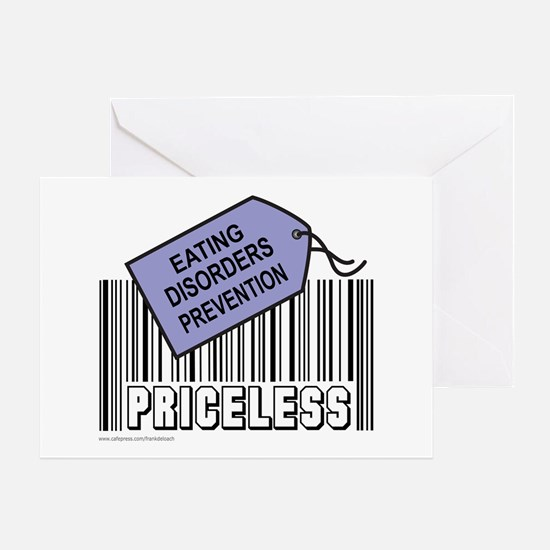 EATING DISORDERS PREVENTION Greeting Card