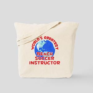 World's Greatest Beach.. (F) Tote Bag