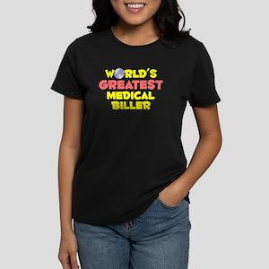 World's Greatest Medic.. (B) Women's Dark T-Shirt