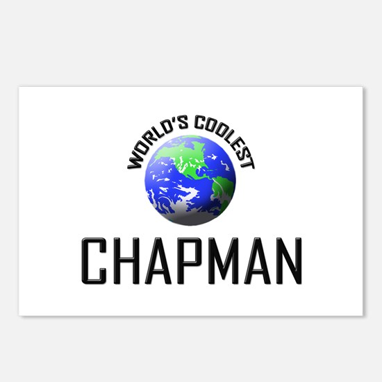 World's Coolest CHAPMAN Postcards (Package of 8)
