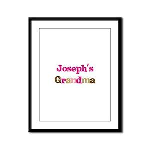 Joseph's Grandma  Framed Panel Print