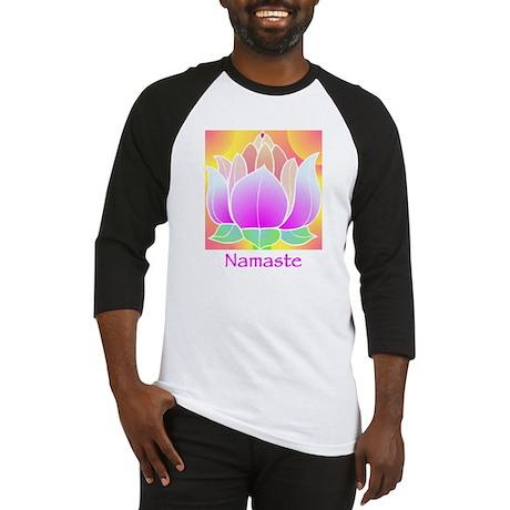 Bejeweled Lotus Flower Baseball Jersey