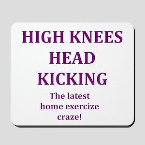 high knees Mousepad