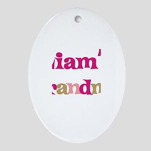 Liam's Grandma  Oval Ornament