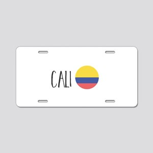 Cali Aluminum License Plate