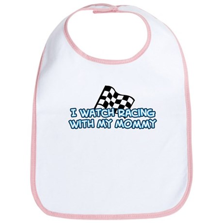 12 Racing Mommy Bib