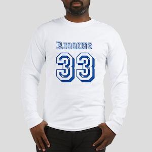 Riggins 33 Jersey Long Sleeve T-Shirt