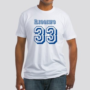Riggins 33 Jersey Fitted T-Shirt
