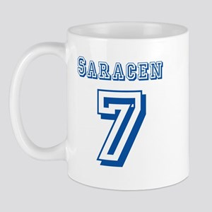 Saracen #7 Jersey Mug