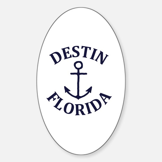 Cute Destin Sticker (Oval)