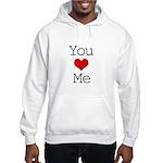 You Heart Me Hooded Sweatshirt