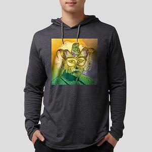 Einstein Mardi Gras Masquerade Long Sleeve T-Shirt