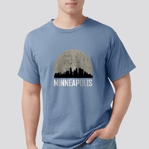 Minneapolis Full Moon Skyline T-Shirt