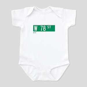 78th Street in NY Infant Bodysuit