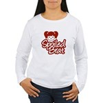 Spoiled Brat - Red Women's Long Sleeve T-Shirt