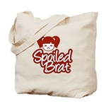 Spoiled Brat - Red Tote Bag
