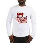 Spoiled Brat - Red Long Sleeve T-Shirt