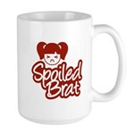 Spoiled Brat - Red Large Mug