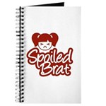 Spoiled Brat - Red Journal
