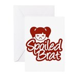 Spoiled Brat - Red Greeting Cards (Pk of 10)