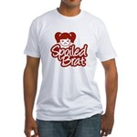 Spoiled Brat - Red Fitted T-Shirt