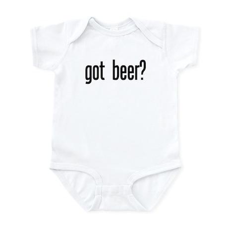 got beer? Infant Bodysuit