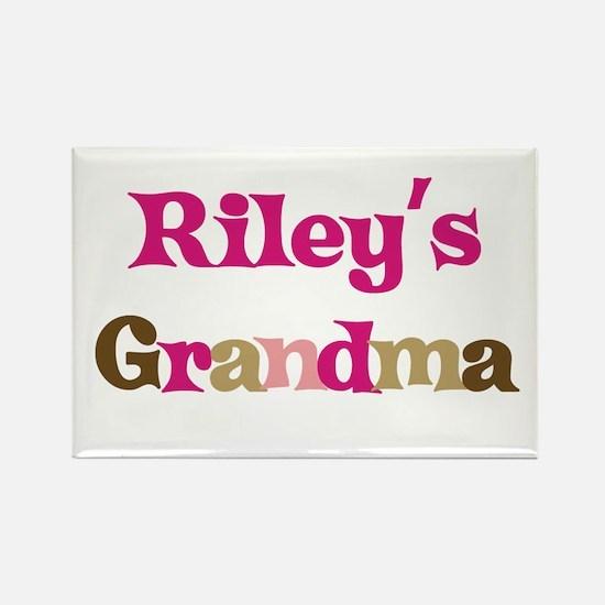 Riley's Grandma Rectangle Magnet