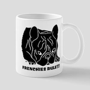Frenchies Rule Mug